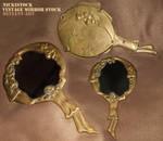 Vintage/Antique Fantasy Hand Mirror - Stock