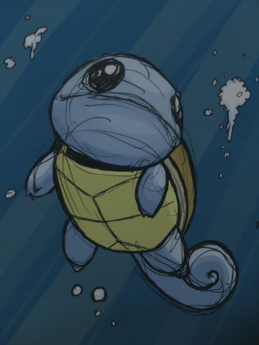 squirtle by grizlyjerr
