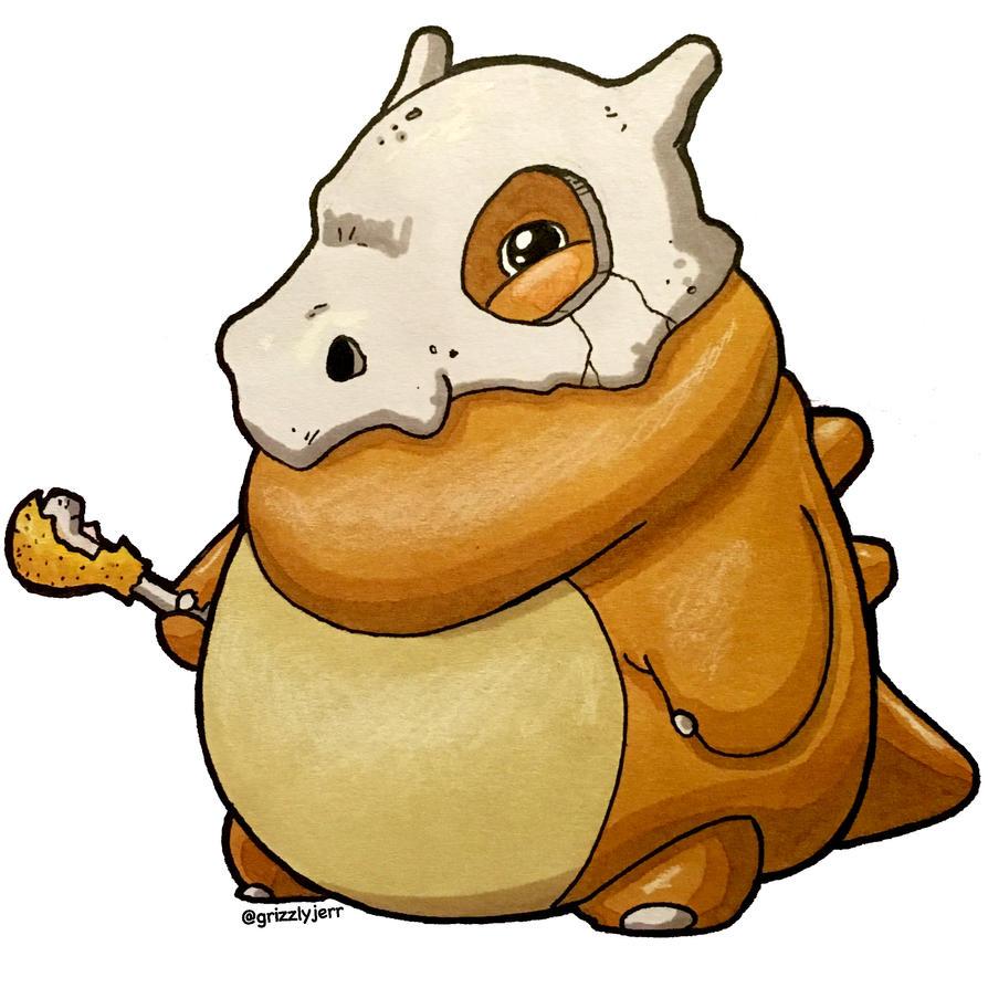 Chunky Cubone by grizlyjerr