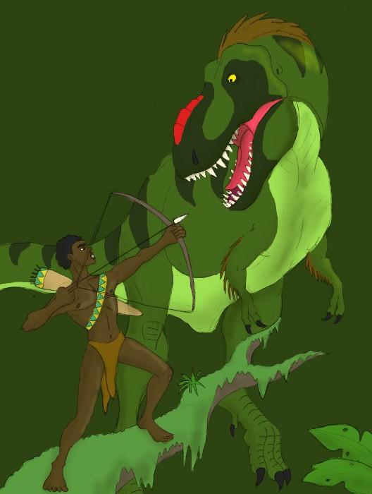 pygmy_vs_t__rex_by_jabrosky-d466tyk.jpg