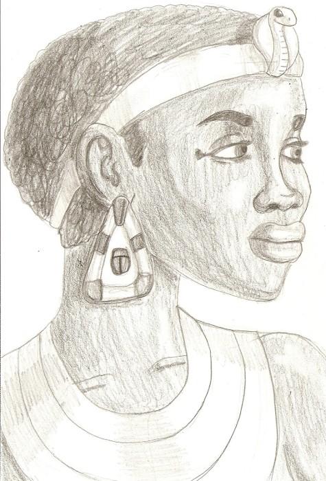 Queen Shanakdakhete of Kush by DaBrandonSphere