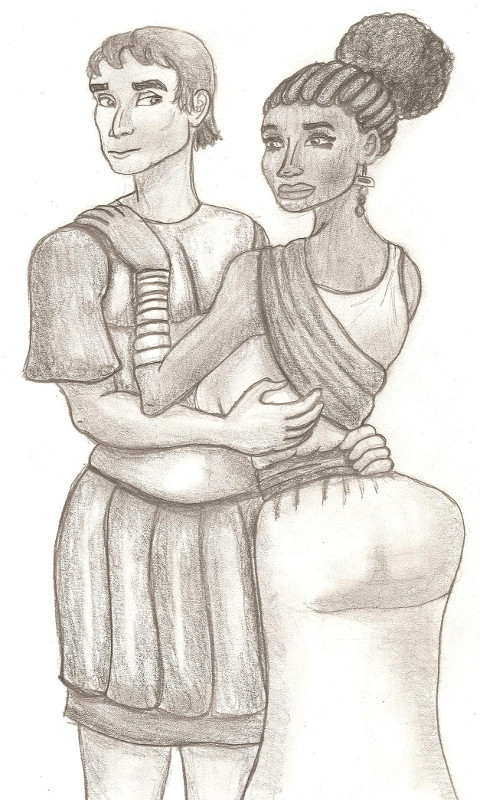 Caesar and Cleopatra by TyrannoNinja on DeviantArtExamples Of Steatopygia