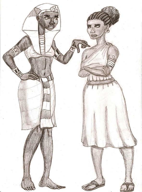 a comparison of a two female egyptian pharaoh cleopatra and hatshepsut Who is the only female pharaoh in egyptian hatshepsut, the only female pharoh to rule nefartiti and cleopatra were both pharoh's thats two.