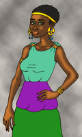 African Aphrodite by TyrannoNinja