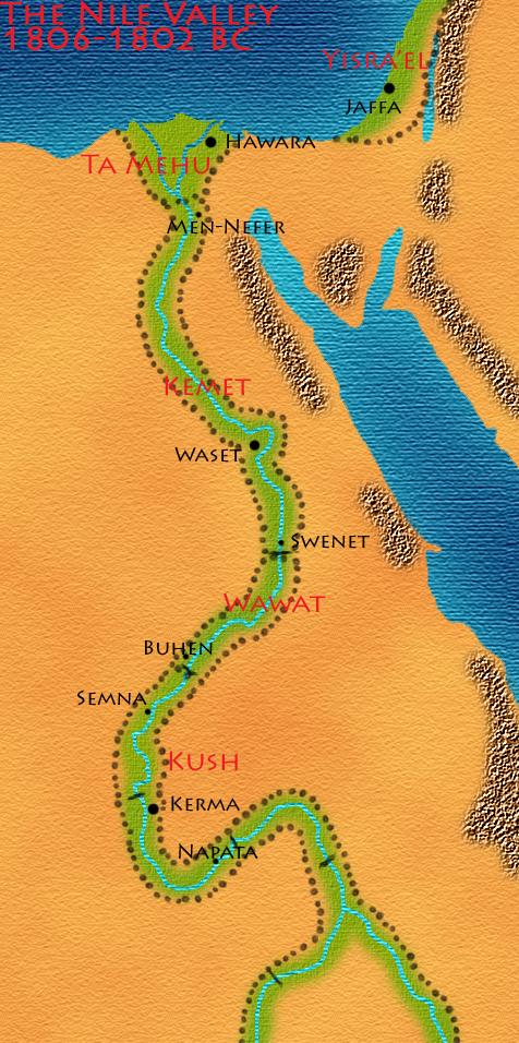 Sobekneferu's Nile Valley By BrandonSPilcher On DeviantArt