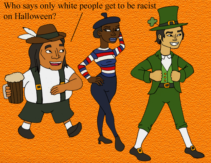 How people of color celebrate halloween by dabrandonsphere for Why do we celebrate halloween in america