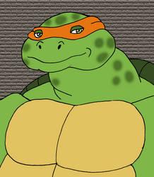 Michelangelo the Ninja Turtle by TyrannoNinja