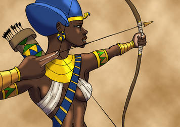 Archer Pharaoh by TyrannoNinja