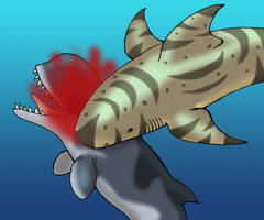 Megalodon for the Win by TyrannoNinja