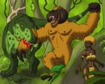 Kong Battles for the Golden Woman