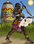 Nothembi the Azenyan Soldier