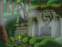 Ruins of Camelot by TyrannoNinja