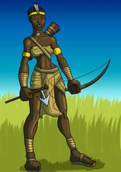 Nyarai of the Vavhimi by TyrannoNinja