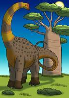 Alamosaurus by TyrannoNinja