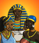 Queens of the Nile - Colored