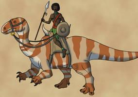 Desert Raider by TyrannoNinja