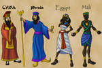 Leaders of the Ancient World by TyrannoNinja