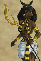 Priestess of Anubis - Colors by TyrannoNinja