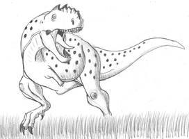 Chenanisaurus barbaricus by TyrannoNinja
