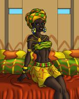 Malian Mademoiselle by TyrannoNinja