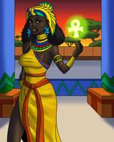 Isis the Enchantress by TyrannoNinja