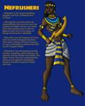 OC: Princess Nefrusheri of Egypt