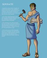 OC: Isokrates the Greek Inventor by TyrannoNinja
