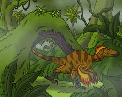 Deinonychus by TyrannoNinja