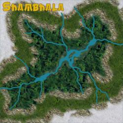 Map of Shambhala