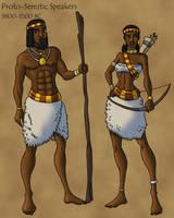 Proto-Semitic People by TyrannoNinja