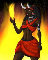Flames of Temptation by TyrannoNinja