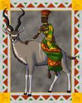The Mambokadzi and the Kudu