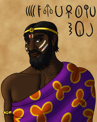 Indus Valley Priest by TyrannoNinja
