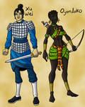 Xu Wei and Oyendako (COLORS)