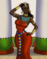 Hathor Sways Her Hips by TyrannoNinja