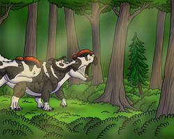 Alaskan Pachyrhinosaurs by TyrannoNinja