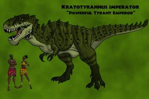 Kratotyrannus imperator by TyrannoNinja