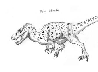 Moros intrepidus by TyrannoNinja