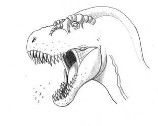 Raging Rex by TyrannoNinja