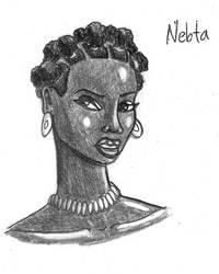 Nebta Portrait by TyrannoNinja