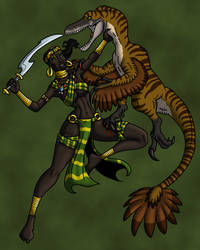 The Raptor Slayer by TyrannoNinja