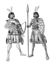 Ancient Libyan Warriors