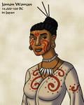 Jomon Woman in Color