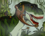 Raptors Versus T. rex