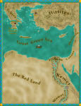 Map for Priestess of the Lost Colony