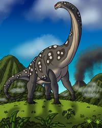Alamosaurus Bull