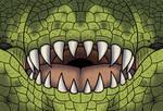 Tyrannosaurus rex Face Mask by TyrannoNinja