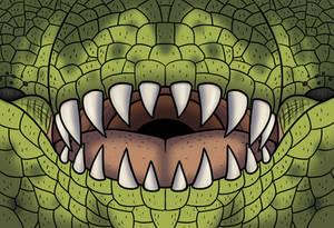Tyrannosaurus rex Face Mask