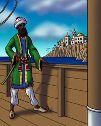 Corsair of the Barbary Coast