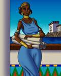 Hypatia of Alexandria, 2020 Version by TyrannoNinja